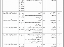 Jobs in Cabinet Secretariat Establishment Division Islamabad Daily Jang Newspaper 05 April 2018