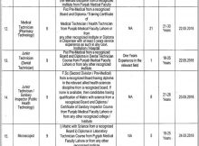 Jobs in District Health Authority Multan 08 April 2018 Daily Express Newspaper