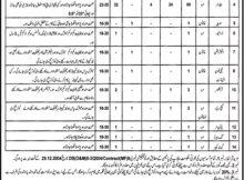 Jobs in Irrigation Department Bhakkar Daily Jang Newspaper 11 April 2018