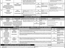 Jobs in Punjab Public Service Commission Daily Jang Newspaper 11 April 2018
