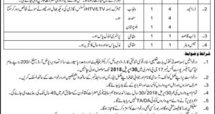 Jobs in School of Military Intelligence Daily Express Newspaper 08April 2018