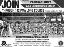 Pakistan Army New Jobs Daily Express Newspaper 01 April 2018