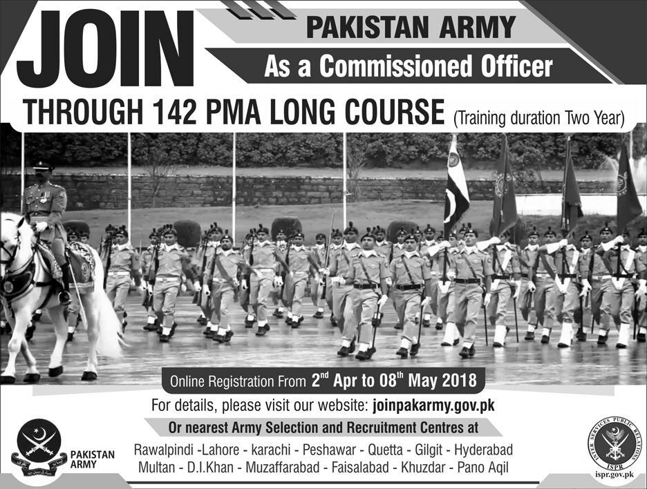 Pakistan Army New Jobs Daily Express Newspaper 01 April 2018