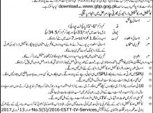 Jobs in Gilgit Baltistan Police Daily Express Newspaper 12 April 2018