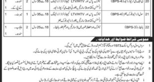 Jobs in Ministry of Defense Government of Pakistan 24 April 2018 Daily Express Newspaper