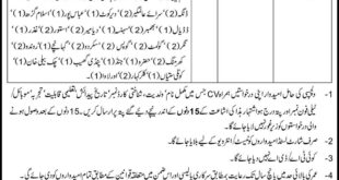 NADRA Jobs 05 December 2018 National Database & Registration Authority