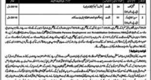 District Civil Courts Chiniot Process Servers & Sweeper Sanitary Worker Jobs March 2021