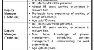 Karachi Shipyard & Engineering Works Limited Jobs 2021