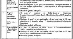 PMDFC Punjab Jobs March 2021
