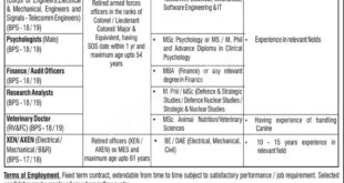 PO Box 758 Rawalpindi Jobs February 2021 Apply Online www.paknokri.com