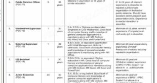 Pakistan Engineering Council Islamabad Assistant Registrar, PRO, junior executive Jobs March 2021